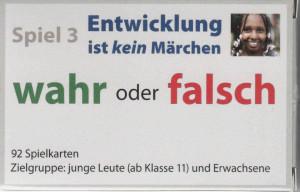 """Kartenspiel """"Wahr oder falsch?"""" (REDUZIERTER PREIS)"""